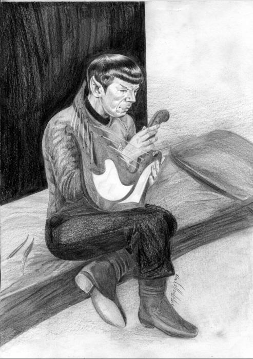 Leonard Nimoy par immueller
